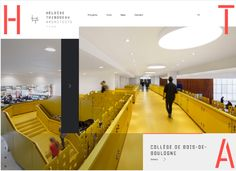 So if you are looking for some examples of creative web design work, here are 30 Ravishing Mondrian-style Website Designs for Inspiration. Modern Web Design, Creative Web Design, Web Design Trends, Wireframe, College Website, Website Design Inspiration, Web Layout, Creativity And Innovation, Best Web