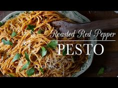 Roasted Red Pepper Pesto Recipe | Kitchen Vignettes | PBS Food
