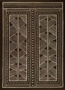 Batik papier12- (77 x 107 cm) Encres typographiques sur papier coton