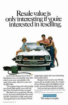 1977 Honda Civic ad.