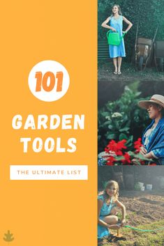 Most gardeners don't set foot in the garden without their trusty handheld trowel, favourite pruning shears, and perhaps a nice pair of gardening gloves. That being said, there are a whole host of other gardening tools! Here's the ultimate list of garden tools for the avid gardener. Garden Weeding Tools, Garden Tools List, Garden Tool Set, Garden Ideas, Gardening Supplies, Gardening Tools, Kitchen Gardening, Trench Drain, Digging Tools