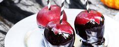 Nightmare Caramel Apples # halloween food ideas'