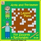These are concept lessons for the teaching of area and perimeter for squares and rectangles. Each lesson starts with a real world problem, which is...