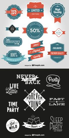 Free Vintage Style Labels