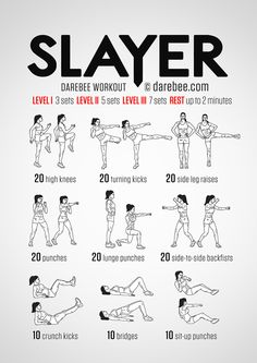 Slayer Workout
