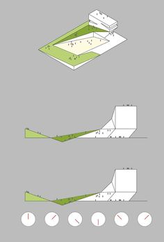 Dalian Library by 10 Design-diagram change of design with time of day