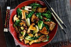 Slimming World's oriental mushroom stir-fry