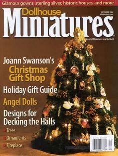 Dollhouse Miniatures Magazine Cover