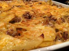 Ofenkartoffeln mit Hack