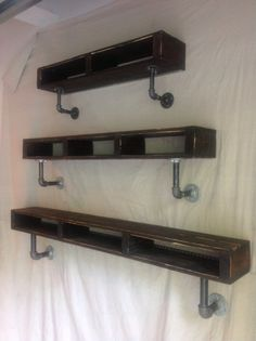 Gayla Industrial Pallet/Pipe Shelf 59 Length by knottypallet