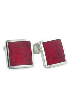 David Donahue Sterling Silver Cuff Links available at #Nordstrom 195