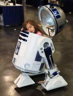 The rebellion must wait. It's nap time for R2D2.