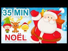 Chansons de Noël - Comptines - Dessins animés pour enfants - 35 min - YouTube