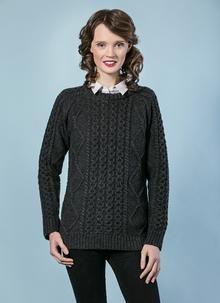 Molly Aran Crew Neck Sweater
