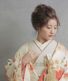 Japanese Hairstyles, Sari, Hair Styles, Fashion, Saree, Hair Plait Styles, Moda, La Mode, Hair Looks