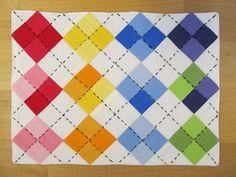For pinky - would require hand quilting but made me think of you :)