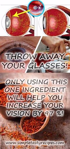 THROW AWAY YOUR GLASSES! ONLY USING THIS ONE INGREDIENT WILL HELP YOU INCREASE YOUR VISION BY 97 %! - BEAUTIFUL DIY AND HEALTH