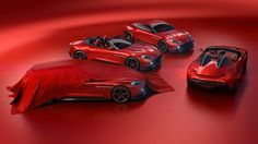 The Vanquish Zagatos: Speedster and Shooting Brake join Coupe and Volante to complete a spectacular quartet. #vanquishzagato #speedster #shootingbrake #astonmartin #zagato