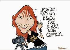 Lêda Rocker: Leda Rocker vai escrever para o Site Rock Roll Mot...