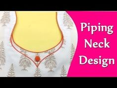 Latest Halter neck design for suit/kameez and blouse cutting and stitching with Helpful tips - YouTube