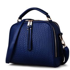 Spring Women Bags Weave Tassel Women PU Leather Handbags Women Shoulder Bag Ladies Casual Women Messenger Bags New BH1150