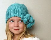 Ruffle Crochet Hat. $26.00, via Etsy.