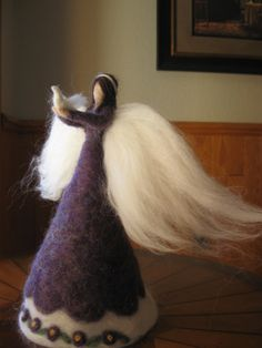needle felted angel by AilieHolland on etsy