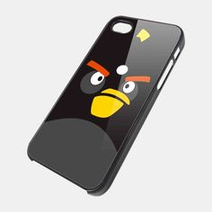 ANGRY BIRDS BLACK for iPhone 4/4s/5/5s/5c, Samsung Galaxy s3/s4 case