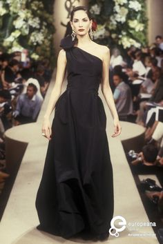 Yves Saint Laurent, Autumn-Winter 1998, Couture
