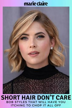 55 Celebrity bobs that will actually make you want to chop your hair. Don't fear the bob - it just wants to make you look hot.