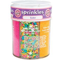 Wilton Bunny Mix Sprinkles ~6-Mix Easter Sprinkle Assortment~