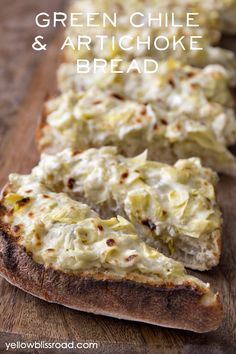 Green Chile & Artichoke Bread