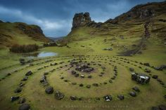 The Fairy Glen - Isle of Skye More