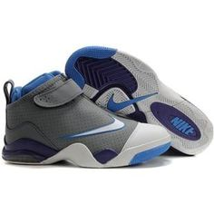 dbb6fdef90cb Nike Zoom Flight Club Tony Parker Shoes White Gray Sport
