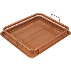 Copper Chef 2-Piece Copper Crisper Oven Air Fryer Pan