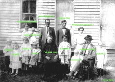 moatsville | Hampton Reed with Family Members in Front of Home