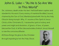 John G Lake Quotes