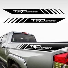 Product: Toyota Tacoma TRD PRO Sport Graphics Kit fits to Tacoma or Tundra Cool Car Stickers, Car Decals, 4x4, Toyota Tacoma Accessories, Toyota Tacoma Trd Pro, Toyota Innova, Energy Technology, Medical Technology, Fringes