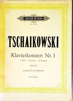 Tschaikowski. Klavierkonzert Nr 1