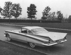 2 Passenger '60 Buick concept car