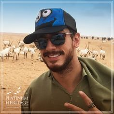 Saad Lamjarred, the famous Moroccan singer, experienced our Safari tour and loved the wildlife! Do you think he also sang for our Arabian Oryx?