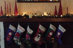 And the stockings were hung by the chimney with care....