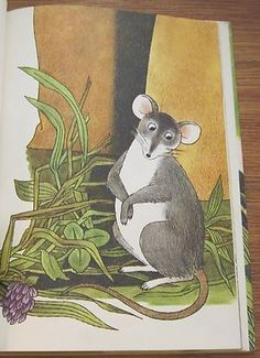 mouse illustration, The Wee Moose 1964 Gina Bell Zano Enrico Arno Mouse Mice Vintage Picture Book | eBay