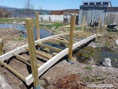 asian wooden bridges | Pond Bridge - Garden Bridge - Japanese Bridge (Arched) - Plan to build ...