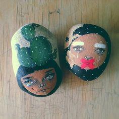 Stone art by Ghalia Barghouthi