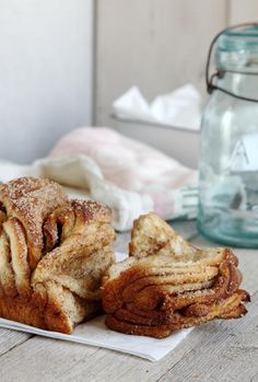 Cinnamon and Sugar Pull Apart Bread