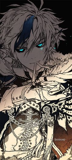 Dread Lord from Elsword... He gives me chills. <<< Maybe because of his excessive spam powers...? But I could be wrong.
