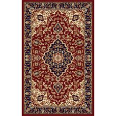 Found it at Wayfair - Richmond Red Area Rug