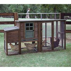 Chicken Poultry Cage,Hen House,Rabbit Hutch Coop 01 Large