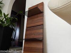 a muro board nussbaum masivamente madera estanteria para board estante de cristal estante brett nuevo au a medida
